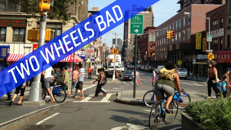 My First Bike Ride Across Manhattan Nearly Made Me Ruin My Pants