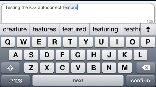 Enable Apple's Hidden, Android-Like Autocorrection in iOS 5