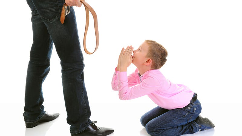Stock Photo Psychology: How To Illustrate a Story About Spanking