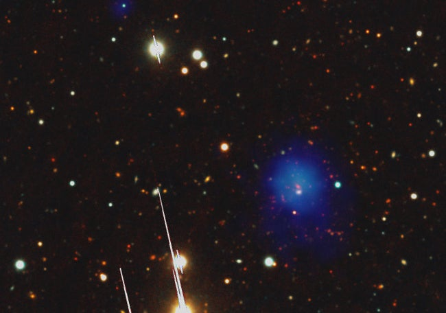 Heaviest, Farthest Cluster Points Toward Dark Energy