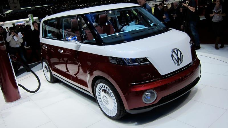 VW Bulli Concept: The Neo Hippie Van's one hot box