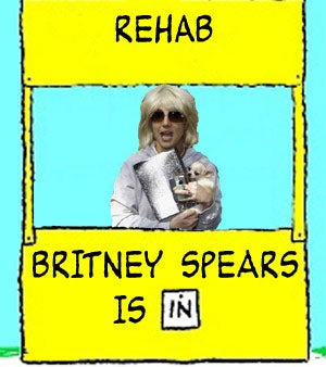 Britney Spears Back In Rehab Again