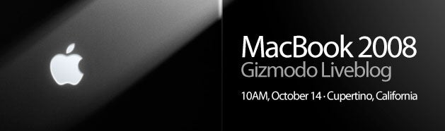 Apple's BrickBook MacBook Event: 10 AM PST, October 14