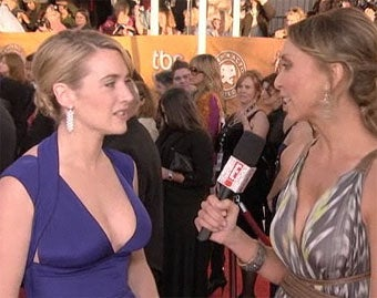 Kate Winslet, Golden Globe Winner, Finds Wii Sports Boxing Hilarious