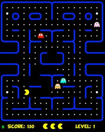 Play HTML 5 Pac-Man