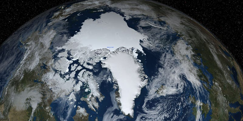 We've Now Lost So Much Arctic Ice That We Have to Change Our Atlases