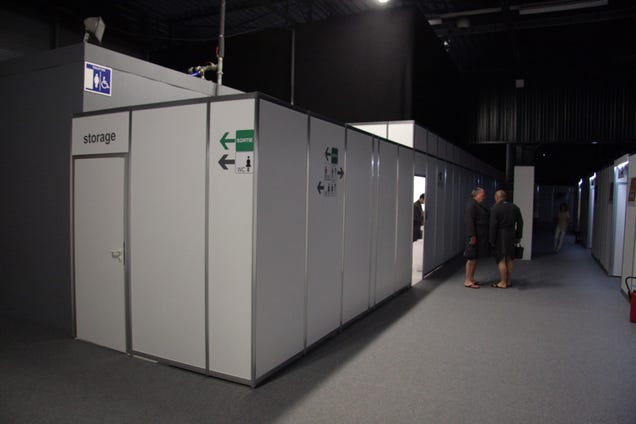 This Temporary Cubicle Hotel Is The Absolute Best Way To See Le Mans