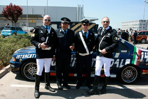 Team Polizei Found Fund to Benefit Family of Gumball Crash Victims
