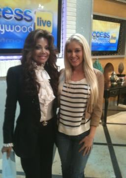 La Toya Jackson Hung Out With Everyone Today