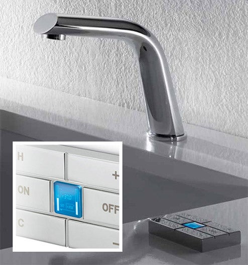 X-Touch Mixer Faucet Is Precise and Informative