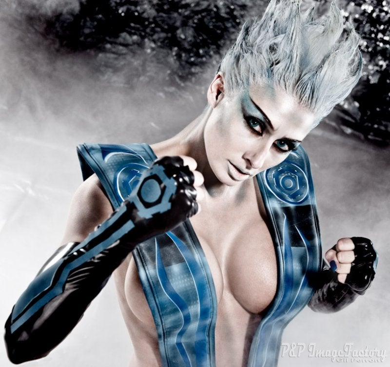 Mortal Kombat's Frost Much Hotter In Person