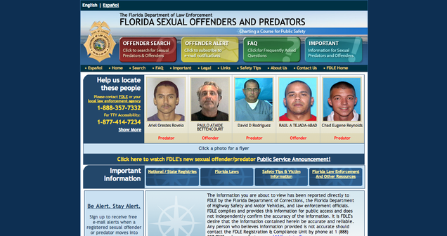 Predators Site Redirects To Sex Offenders Site Because Of Troll&#x2026