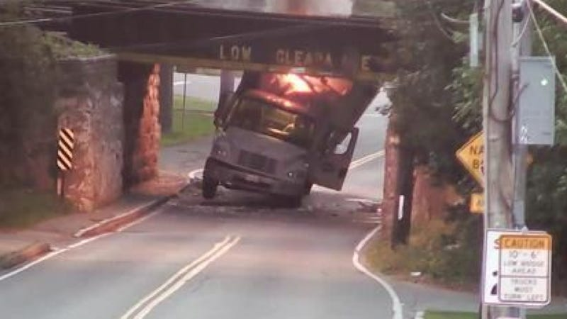 'Thousands Of Lobsters' Blow Up When Cargo Truck Slams Into Bridge