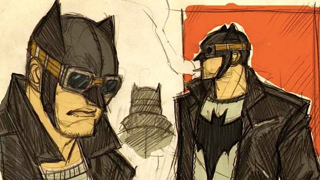 1950s greaser Batman needs to be a reality