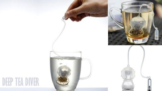 This Tea Steeper Thinks It's in The Life Aquatic With Steve Zissou