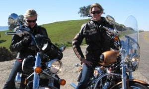 Starbuck And Six Go On Wine Drinking, Motorcyle Riding Romp