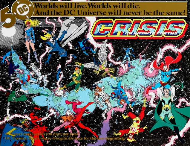 CrisisManagement: Why DC Comics Is Always Changing Everything