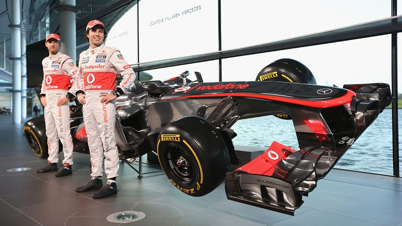 The McLaren MP4-28 Gets A Nose Job And A New Wheelman