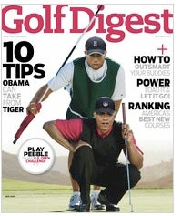January's Golf Digest Cover Story Becomes Accidental Letterman Bit
