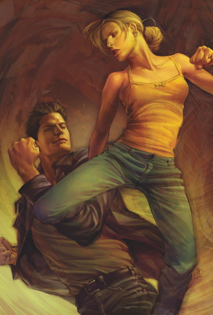 Leaked cover of new Buffy comic gives major spoilergasm