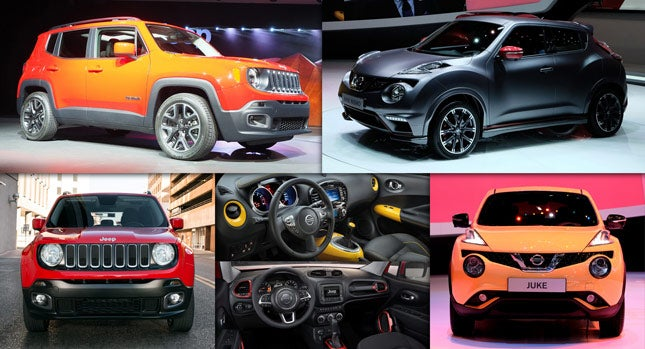Are the Juke and the Renegade the most exciting cars in their class?