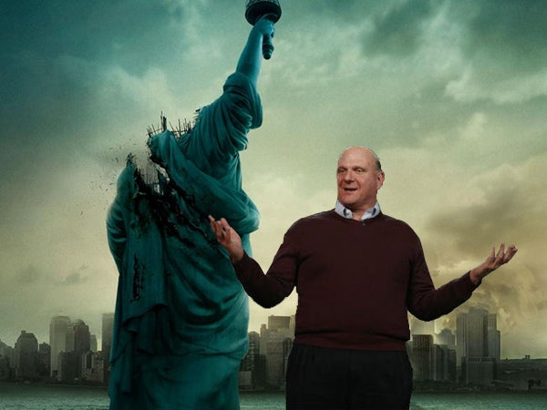 56 Situations Steve Ballmer Probably Hasn't Been Seen in Before