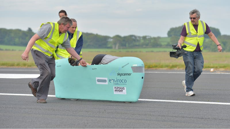This Ridiculous Bike Could Set The Human Powered Speed Record