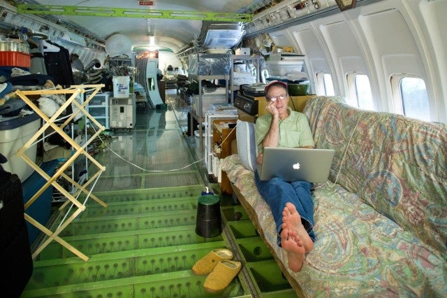 Man Transforms Gigantic Airplane Into His Home
