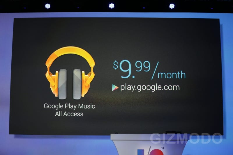 Google Play Music All Access Is a Subscription Like Spotify Only Better