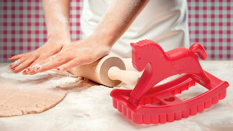A Rocking Horse Cookie Cutter Is a Sweet and Easy Way For Kids To Help