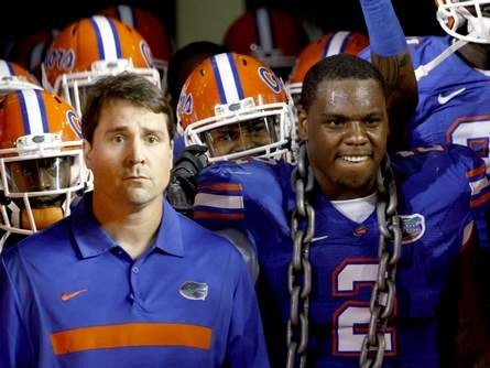 Florida's Dominique Easley Has Giant Metaphor Draped Around His Neck