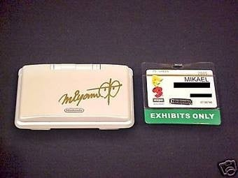Miyamoto-Autographed Pure White DS for $5.50