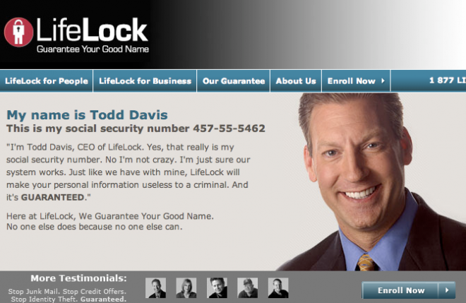 LifeLock CEO's Identity Has Been Stolen 13 Times