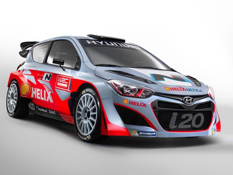 Hyundai i20 WRC, this is it