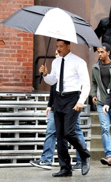 Men In Black III Set Pictures
