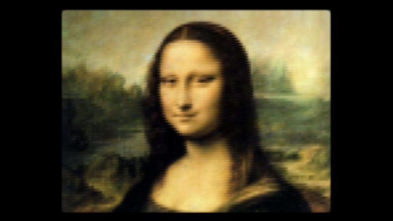 CSS Mona Lisa Turns Your Browser Into the Louvre
