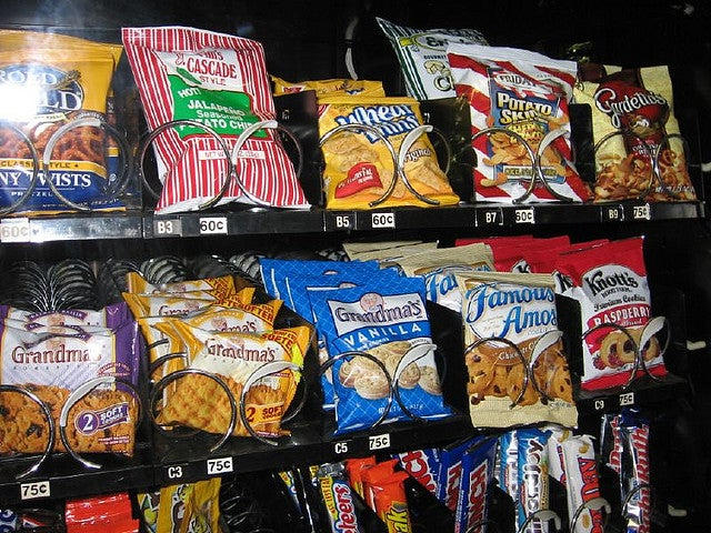 Vending Machines Are So Freaking Unpopular Now