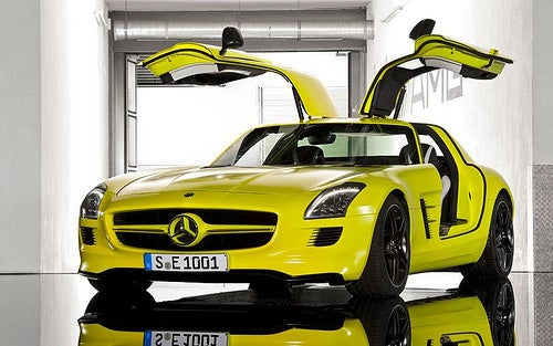 Mercedes-Benz SLS AMG E-Cell: Gullwing, Electrified