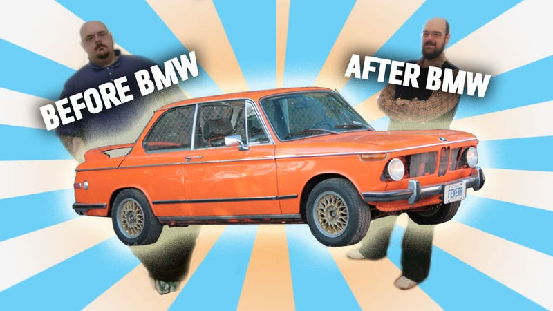 Reader Loses 260 Pounds And Rewards Himself With Vintage BMW