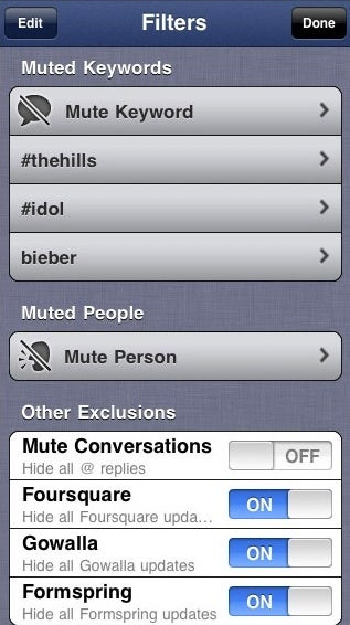 Hitting The Mute Button On Twitter And Facebook