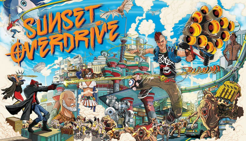 Deals: Sunset Overdrive, Halo 5, Shadow of Mordor, Lara Croft, 2DS