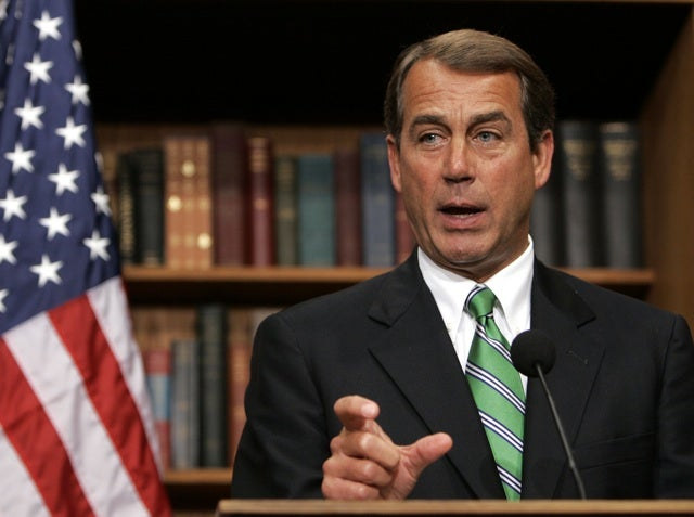 John Boehner 'Can't Imagine' Ever Supporting Gay Marriage