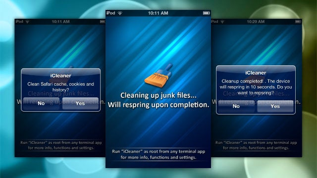 iCleaner Deletes Junk Files and Frees Up Space on Your Jailbroken iPhone