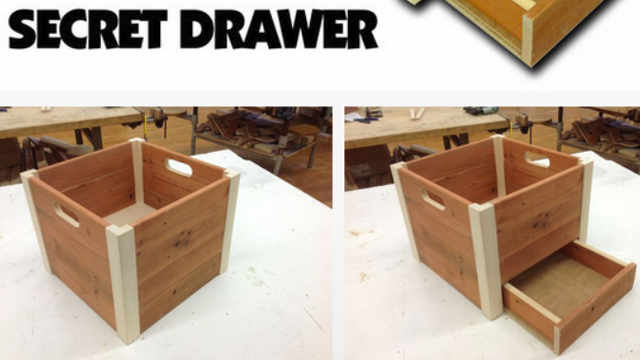 Hide Your Valuables in Plain Sight with This DIY False Bottom Crate