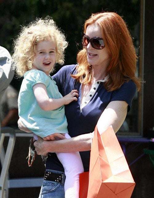 Marcia Cross's Daughter Is A Cute Curly Sue