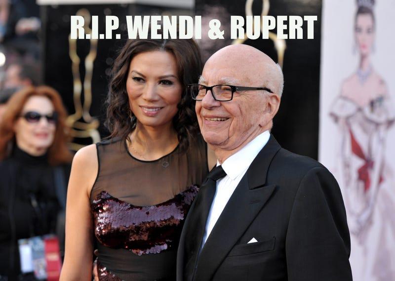 Rupert Murdoch Divorces Wendi Deng