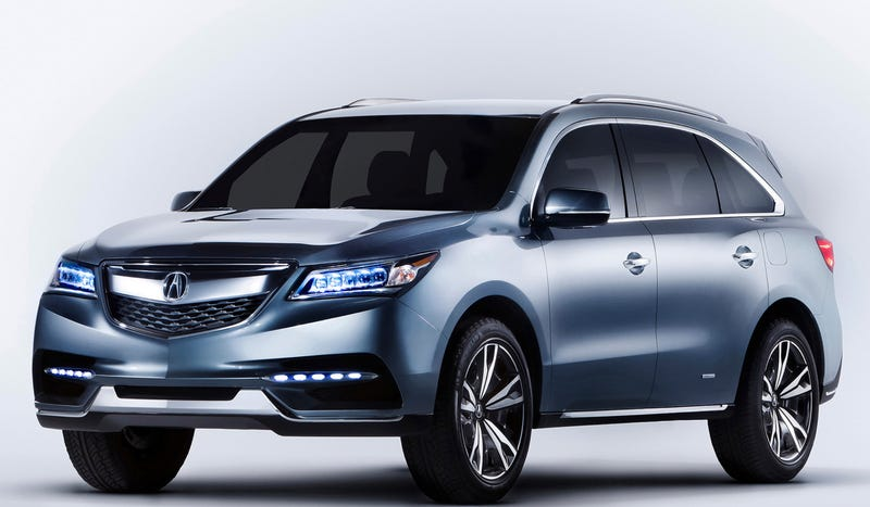 The Acura MDX Prototype: Touch The Future