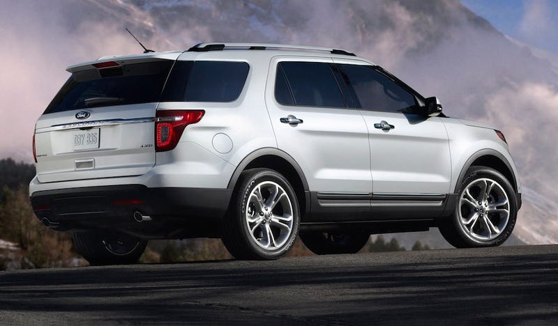 2011 Ford Explorer: This Is Not An SUV