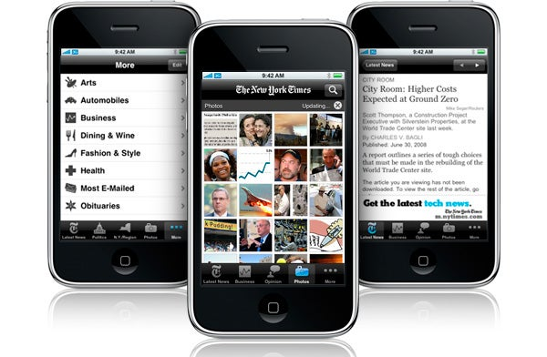 Hey New York Times! Fix Your Stupid iPhone App