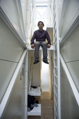 What life looks like inside the world's narrowest house